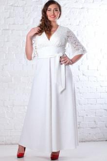 Платье 078101 ЛаТэ (Белый)